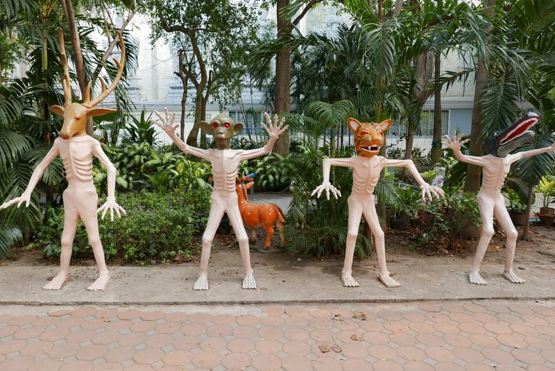 Wat Muang II. Sculpture Park